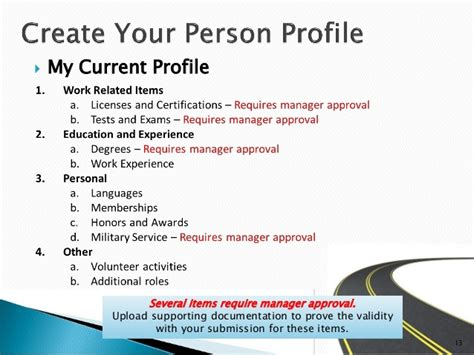 Manager Profile by Talent Management Manager Presentation