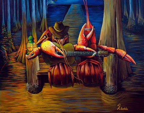 cajun art paintings copyright adam sambola cajun