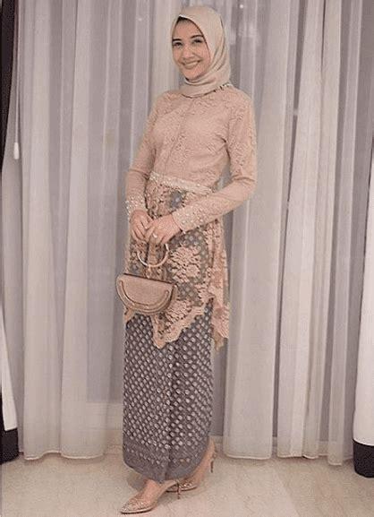model kebaya muslim modern remaja model kebaya modern