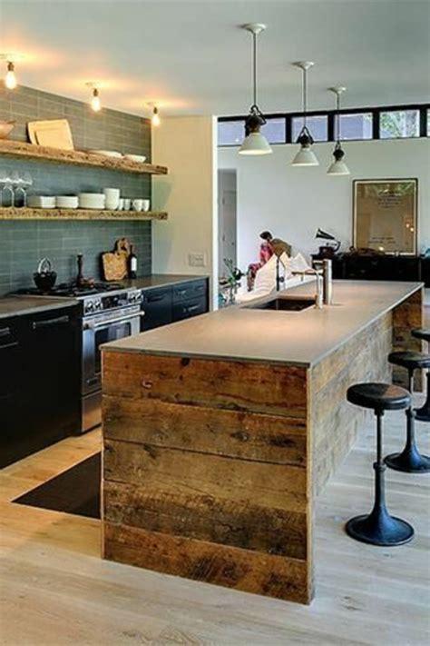 cuisine design avec ilot central la cuisine avec îlot central idées de décoration et design archzine fr