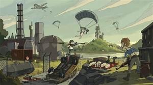 Wallpaper Video Games Digital Art PUBG Cartoon Gun