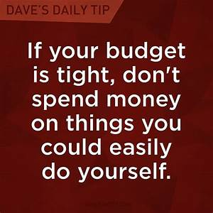 Spend Money Dave Ramsey Quotes. QuotesGram