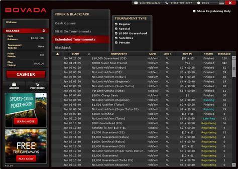 Bovada Poker Review 2014  Bovada Poker Bonus Code