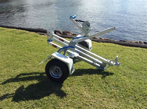 Fold Up Boat Trailer Plans by Seatrail Folding Boat Trailer