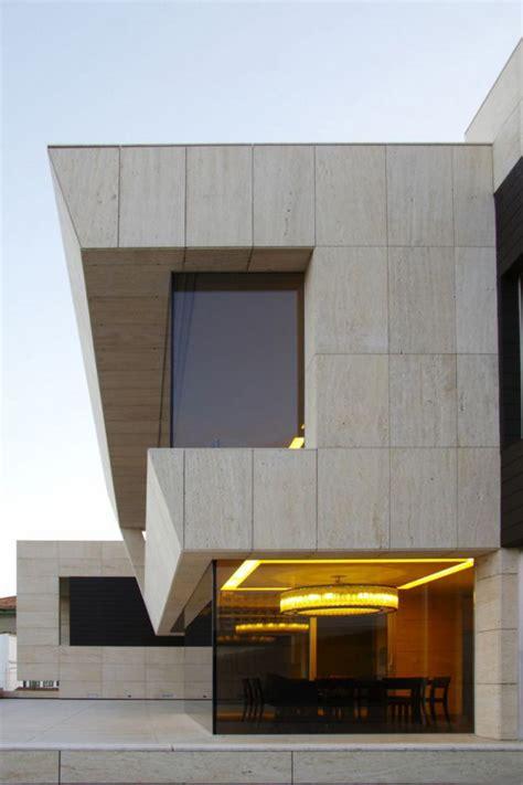 cliff house design  galicia spain modern house designs