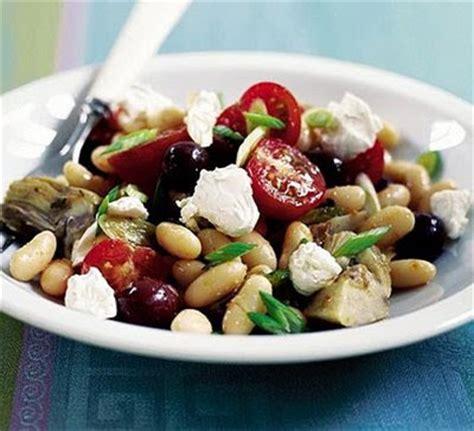 Mediterraneanstyle Bean Salad  Arabic Food Recipes