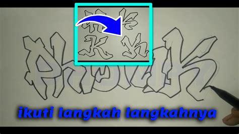 Graffiti Mudah : Tutorial Cara Membuat Graffiti Dengan Mudah Part 2 ( Lihat