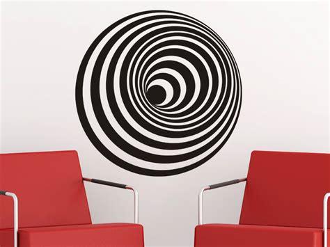 3d motive wandtattoo 3d objekt spirale wandtattoos de