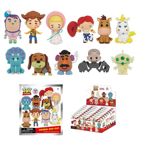 toy story figural blind bag series coming  diskingdomcom disney marvel star wars