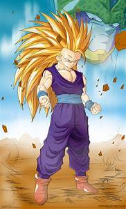 DRAGON BALL Z WALLPAPERS: Teen Gohan super saiyan 3