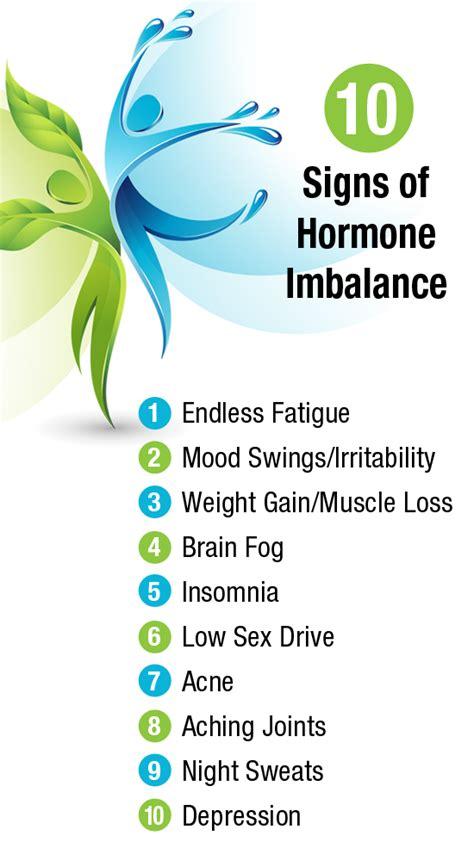 10 Signs Of Hormonal Imbalance