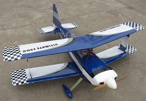 Large 28% Scale Ultimate Bipe Scratch Build R/c Plane