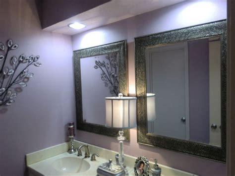 lavender and white bathroom luxurious lavender lavatory modern bathroom houston by shandra ward signature design studio