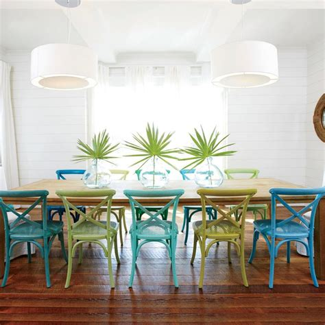 colorful dining room chairs best 25 teal dining rooms ideas on teal