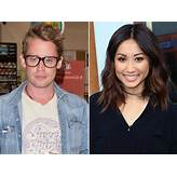 Macaulay Culkin & Brenda Song Get Dinner Together in LA