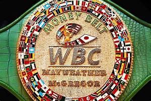 Wbc Creates  U201cmoney Belt U201d For Mayweather