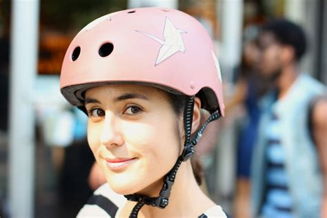 find  stylish bike helmet west village