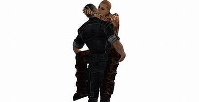 Jack Mass Effect Shepard Kiss Renegade Pt3