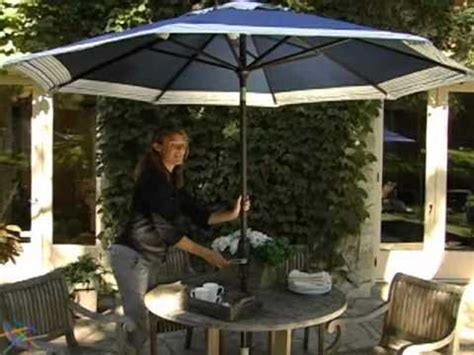 coral coast 9 ft designer auto tilt patio umbrella