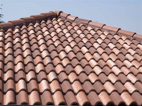 the expectancy of a concrete tile roof is 35 to 50
