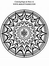 Coloring Mandalas Mandala Kaleidoscope Sheets Adult Tatuagens Starburst Patterns Leles Tattoo Popular Templates sketch template