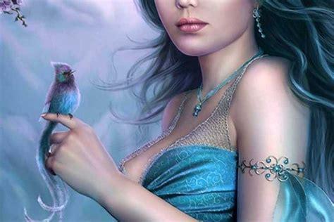 cute  girl  blue hd wallpapers hd backgrounds