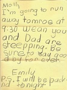 40 Hilariously Honest Notes From Kids | Bored Panda