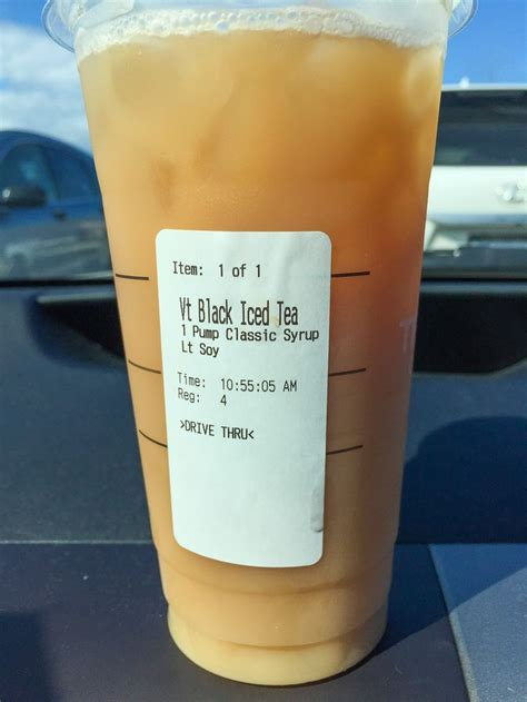 Add an extra pump of classic syrup, one to two pumps of toffee nut syrup, and one to two pumps of raspberry syrup. Starbucks Iced Black Tea in 2020 | Starbucks drinks, Healthy starbucks drinks, Starbucks tea