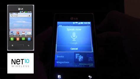 net10 lg optimus logic cell phone walmart net10 wireless lg optimus logic review