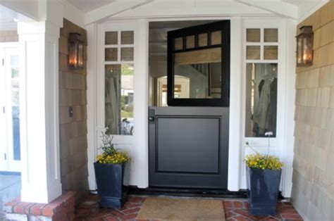 dutch doors double  charm   home   divided design