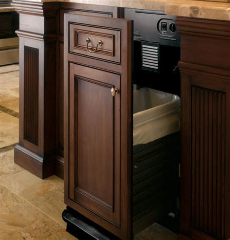 22268 kitchens with cabinets zcgp150rii ge monogram 15 quot built in compactor custom panel 22268