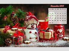 December 2018 Calendar Wallpaper Wallpapers from