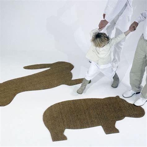 hippo doormat droog design hippo mat surrounding