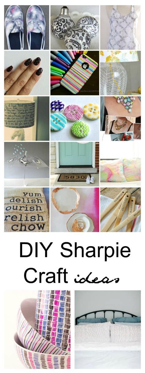 25 Sharpie Diy Craft Ideas  Fun Sharpie Projects