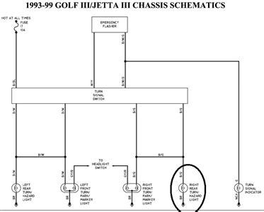 99 Jettum Headlight Wiring Diagram by Solved 99 Jetta Right Light Wiring Diagram Fixya