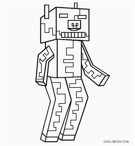 printable zombie coloring pages  kids