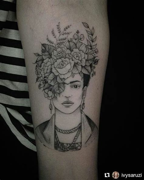 20 Frida Kahlo Tattoos That Will Give You Serious Brow