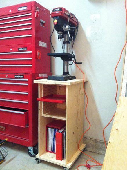 rolling drill press standcabinet drill press stand