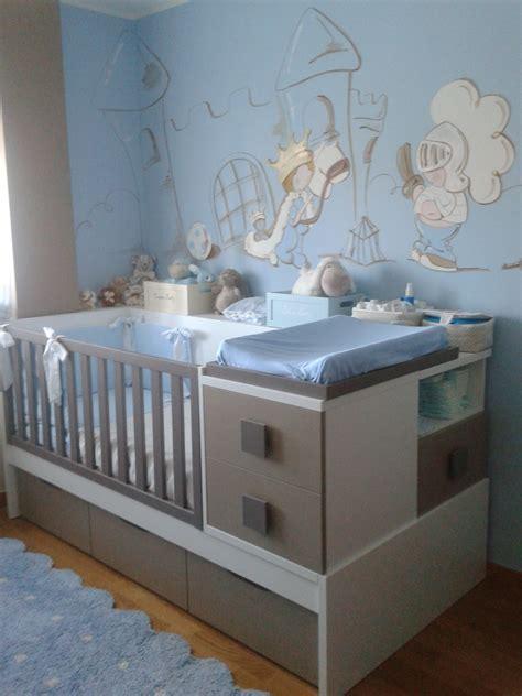 mur chambre bébé davaus chambre bebe mur bleu avec des idées
