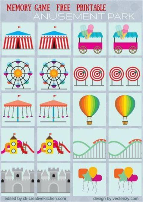 best 25 preschool circus ideas on circus 541 | e586ed650a113ad160ae82d956035e6d memory card game free printables circus preschool theme