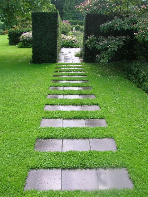 Backyard Path by 20 Amazing Pathways That Will The Show