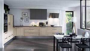 Modele De Cuisine Cuisinella : cuisine bois cuisine bois massif cuisinella ~ Premium-room.com Idées de Décoration