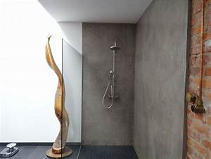 Wasserfeste Tapete Fürs Bad : w nde mit charakter dusche industrial badezimmer other metro von paulus edle r ume ~ Markanthonyermac.com Haus und Dekorationen