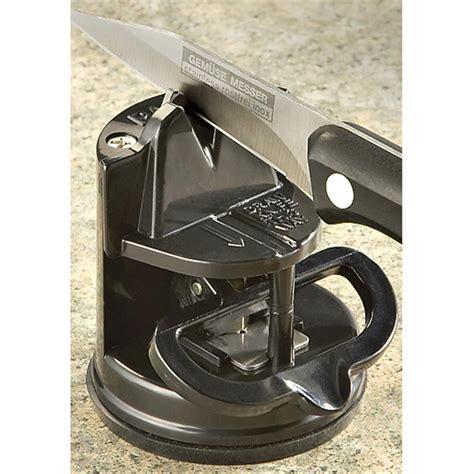 countertop knife sharpener sog countertop knife sharpener 177485 knife sharpeners