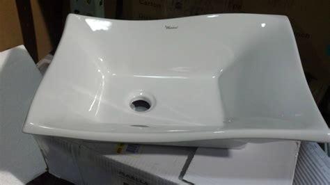 Whitehaus Whkn-wh Above-mount Bathroom Sink In White