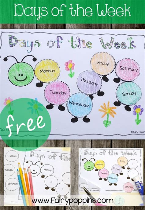 days   week prek spring themes preschool