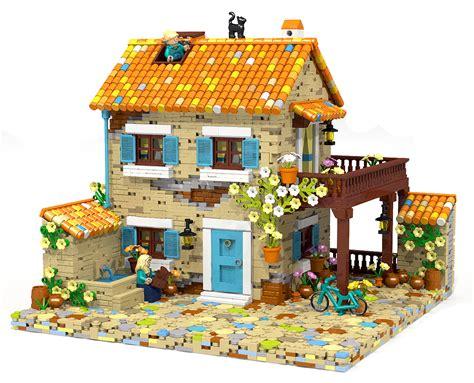 Lego House - gorgeous provence house moc lego