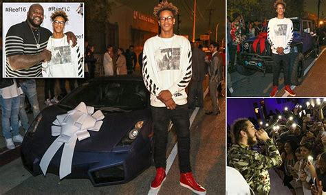Shaquille O'Neal's son Shareef gets a Lamborghini AND Jeep ...