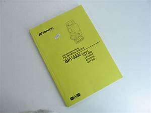 Topcon Instruction Manual Pulse Total Station  Gpt