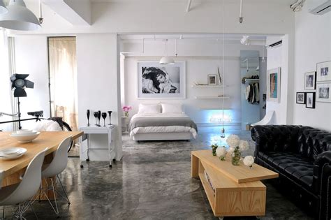 A Studio Loft Which Is A Home And Gallery by Open Plan Loft Interior Design Ideas